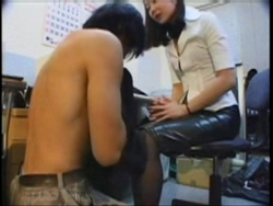 【M男】女社長のストレス解消パワハラ新人虐め!1