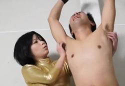 【M男】セクハラ上司にお仕置き気狂いくすぐり虐め!