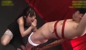 拘束M男責め快楽調教ザーメン搾り!美谷朱里2