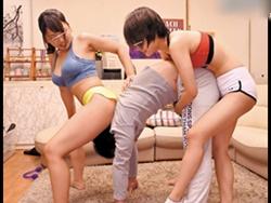 【痴女】体育会系女子だらけのシェアハウスに男はボク1人だけ…1