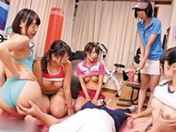 【痴女】体育会系女子だらけのシェアハウスに男はボク1人だけ…2