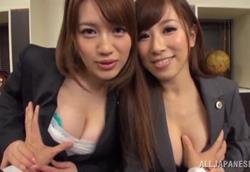 【痴女】美巨乳色仕掛け法律相談所 本田莉子 北川エリカ1