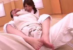 【痴女】柔道女体育教師 スパルタ寝技でザーメン搾り!桜ここみ2